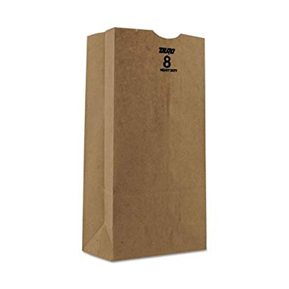 Duro Bag Mfg. - Kraft 8 lb. Paper Husky Bag 70208
