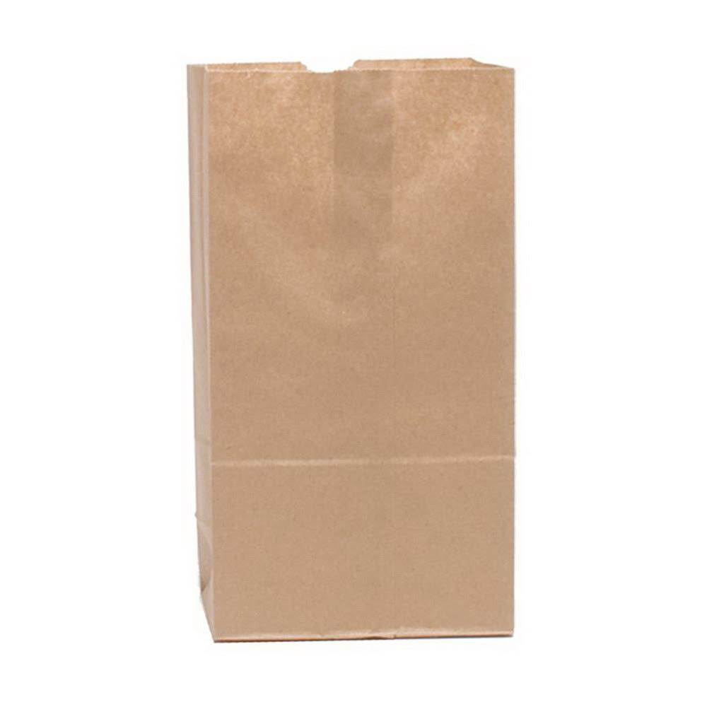 Duro Bag Kraft 20lb Short Husky Paper Bag 70221