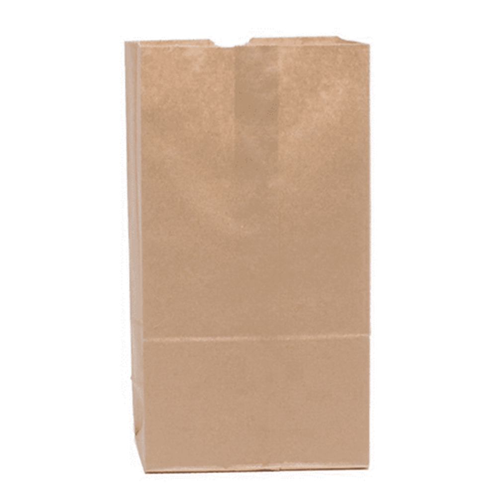 Duro Bag Mfg. - Kraft 6 lb. Paper Extra Heavy Duty Flat Bottom Grocery Bag 71006