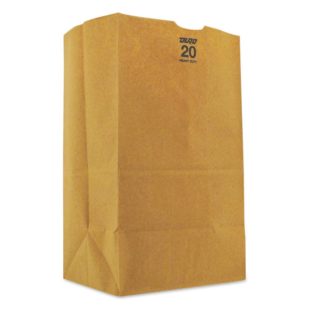 Duro Bag Kraft 20lb Paper Bulwark Heavy Paper Bag 71020