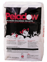 Deicing Depot 50lb Bag Peladow Ice Melt Calcium   Chloride Pellets 84173
