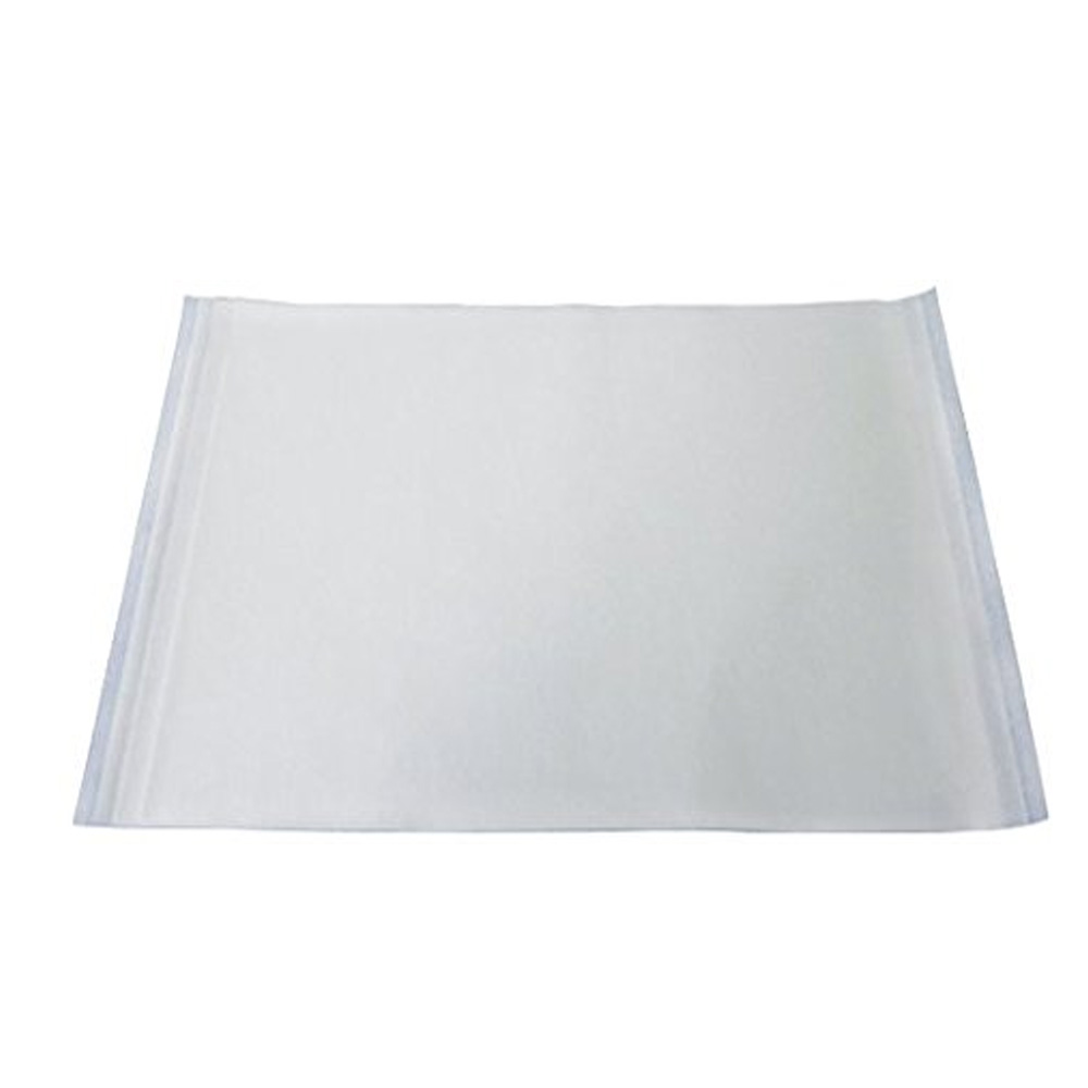 "White 16 3/8"" x 24 3/8"" Rectangular Pan Liner QPL25"