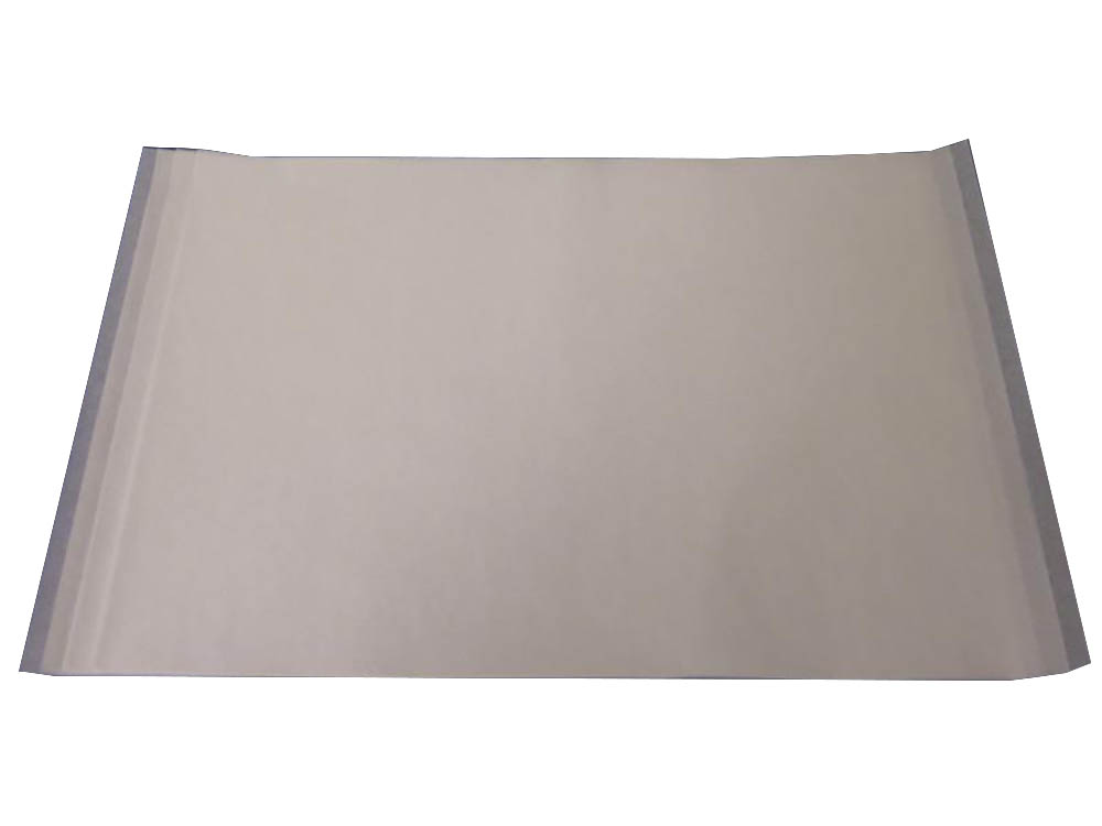 "White 16 3/8""x24 3/8"" Rectangular Quilon Pan Liner QPL25-H"