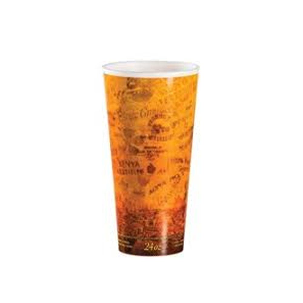 Convenience Packs - Misprint 24 oz. Wrapped Insulated Foam Cup 24U16