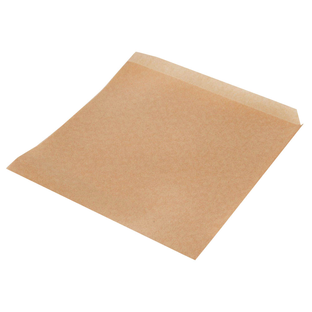 "Bagcraft - Natural 7""x6.75"" Grease Resistant PaperCone Basket Liner 300107"