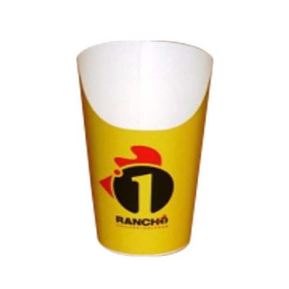 Printed 14.5 oz. Ranch 1 French Fry Scoop         EPC16T-0001