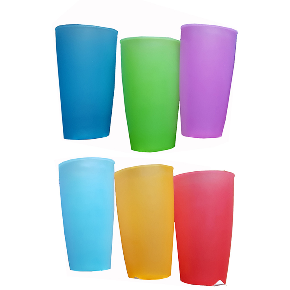 Assorted Colors 28oz Plastic Picnic Cups MPG28PIC