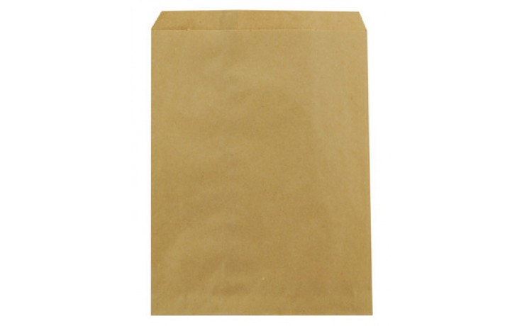 "Duro Bag Mfg. - Kraft 8.5""x11"" Paper Merchandise Bag 14852"