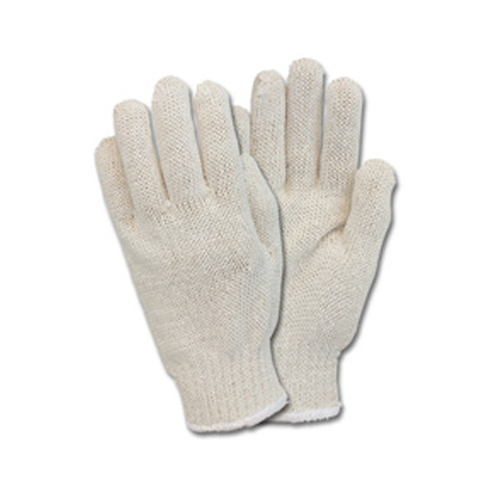 Ball Trading White Medium Safety Zone Knitted Glove GSMWMN2CNRB