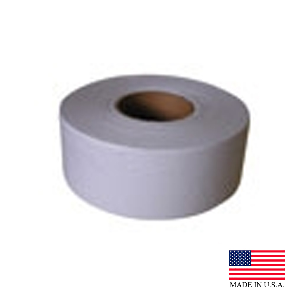 "Nittany Paper White 9"" 1ply Junior Roll Bathroom Tissue NP-5207"