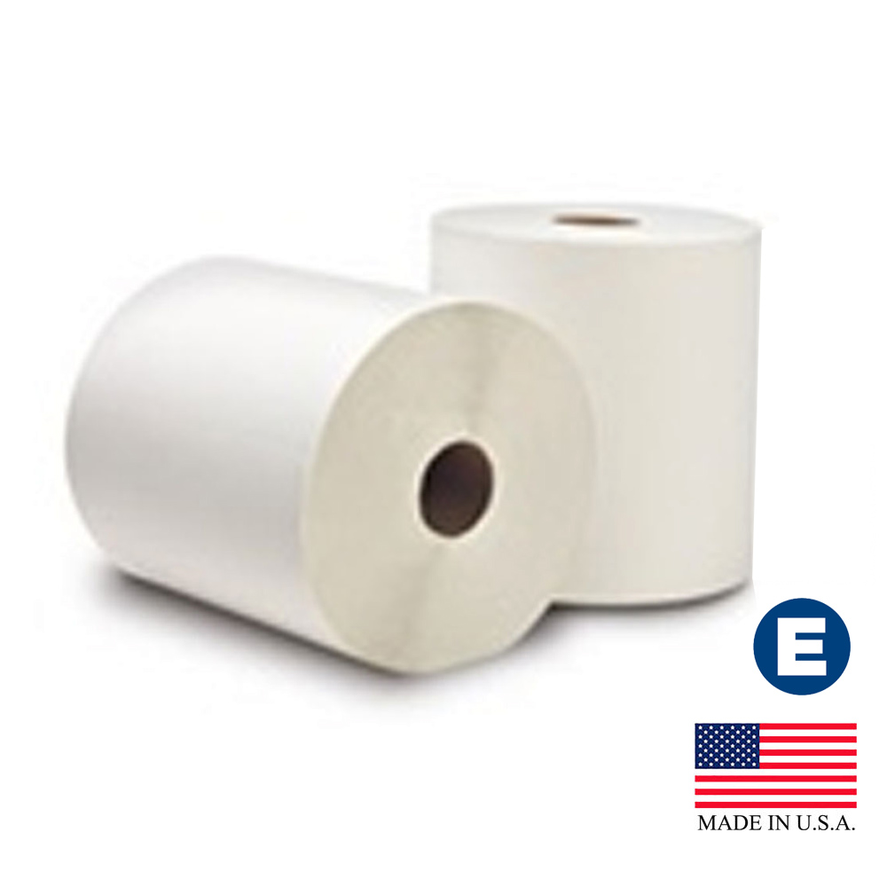 "Essity Professional White 8""x630' Ecosoft         Controlled Roll Towel 31600"