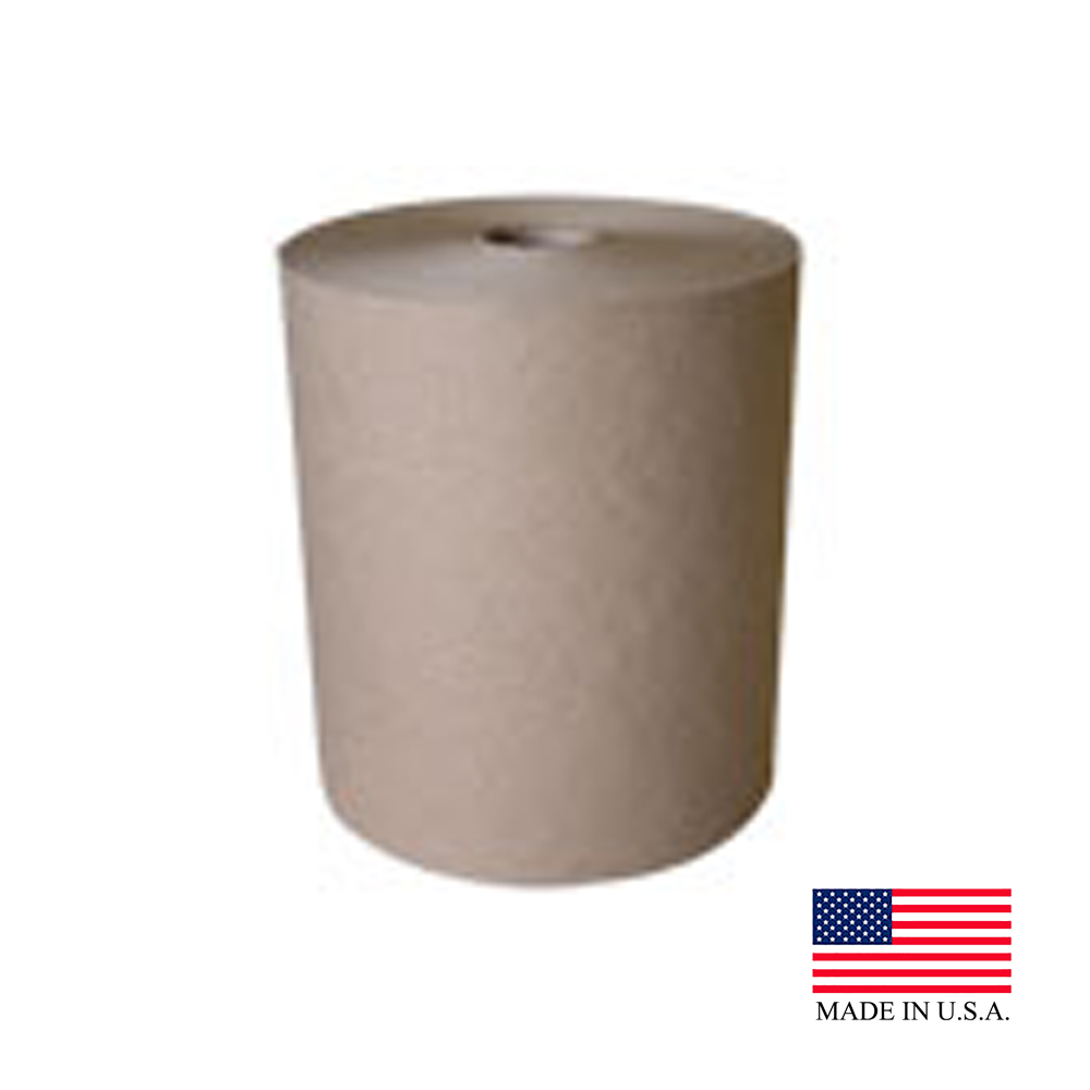 Nittany Paper Natural 800' Control Embossed Roll Towel NP-6800ENC