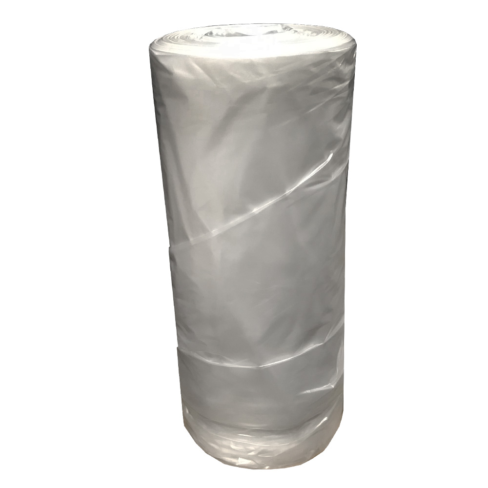 "Rodeo Plastic Bag - Clear 280""x80"" 1.3 Mil PlasticFDA Film Bag C1328080"