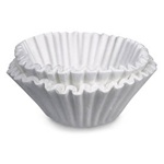 White 8-12 Cup Bunn Urn Tea Filter 20100
