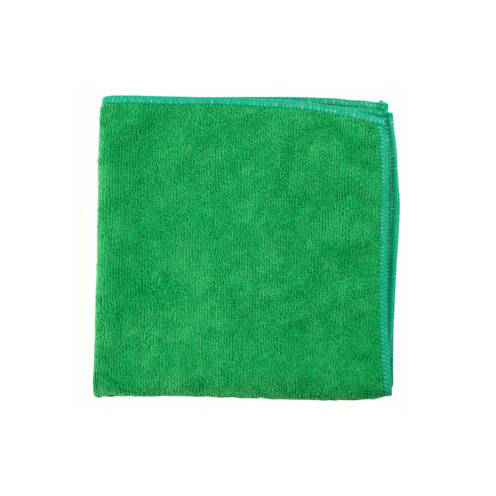 "Filmop USA Green 16""x16"" Microfiber Cloth         B0062-200"