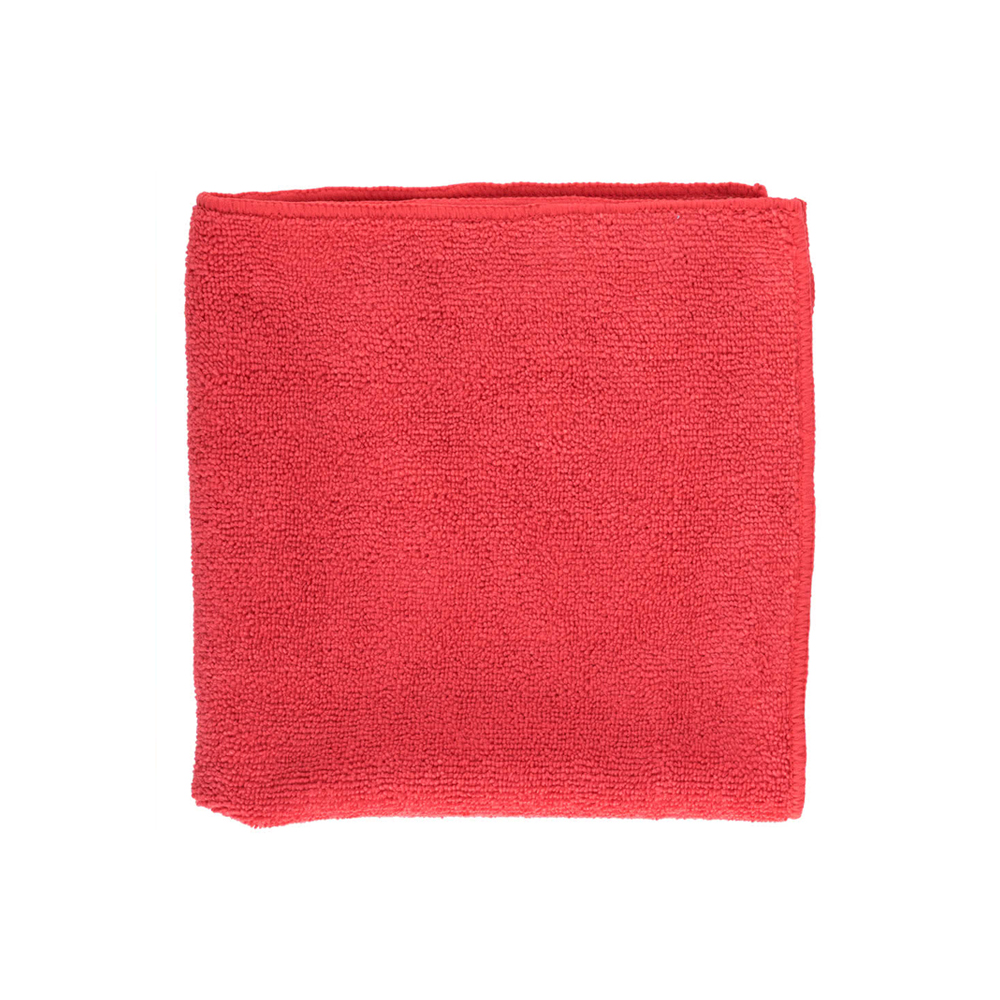 "Filmop Usa Red 16""x16"" Microfiber Cloth B0072-200"