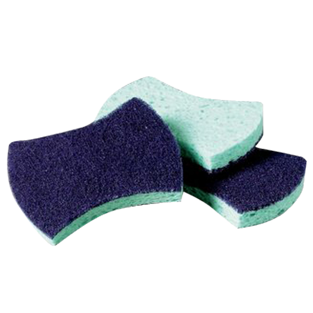 "3M Products - Scotch-Brite Blue & White 2.8""x4.5""x0.6"" Power Sponge 3000"