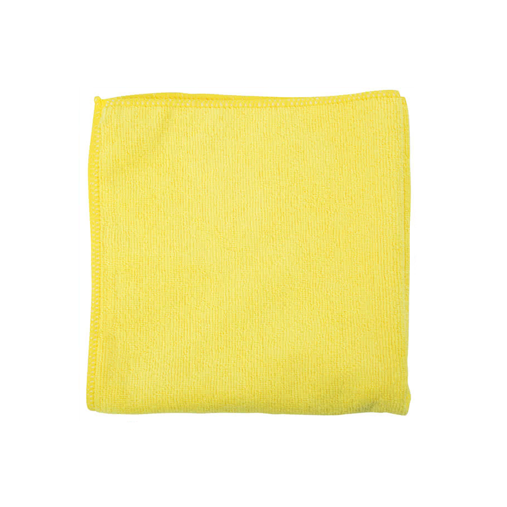 "Filmop USA - Yellow 16""x16"" Microfiber Cloth B0082-200"