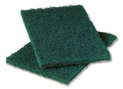 "3M Products - Scotch-Brite Green 6""x9"" Heavy Duty Scouring Pad #86"