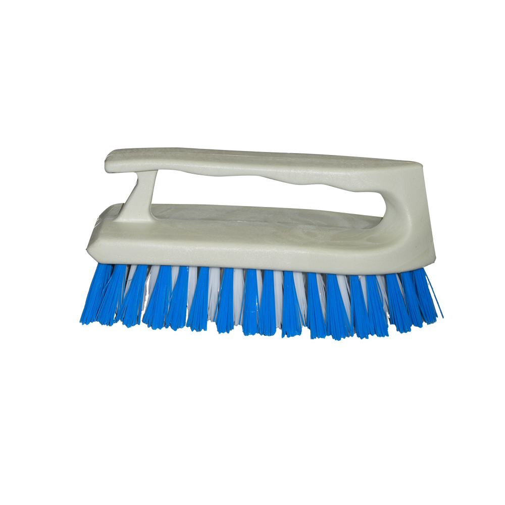 "Culicover & Shapiro Inc. - White 6""x 2-1/2"" Plastic Jet Scrub Brush 595"