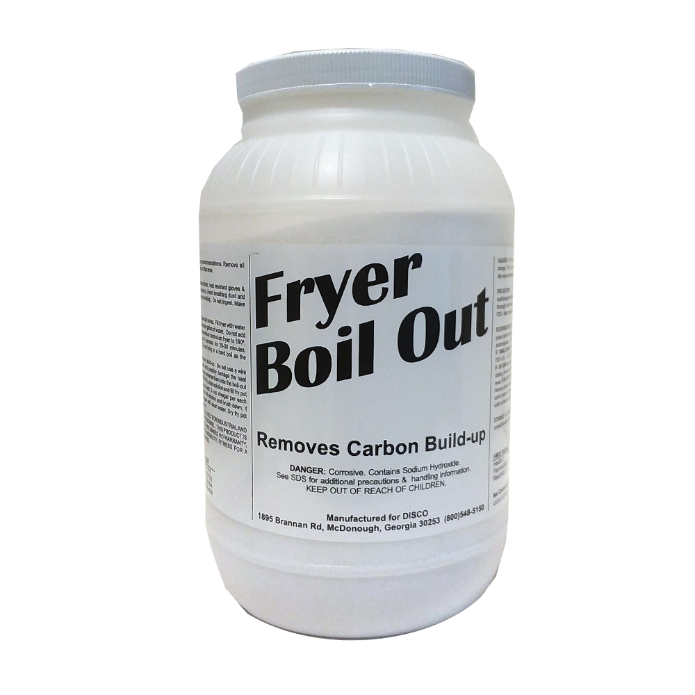 2/8# 8lb Boilout Fryer Cleaner FB08