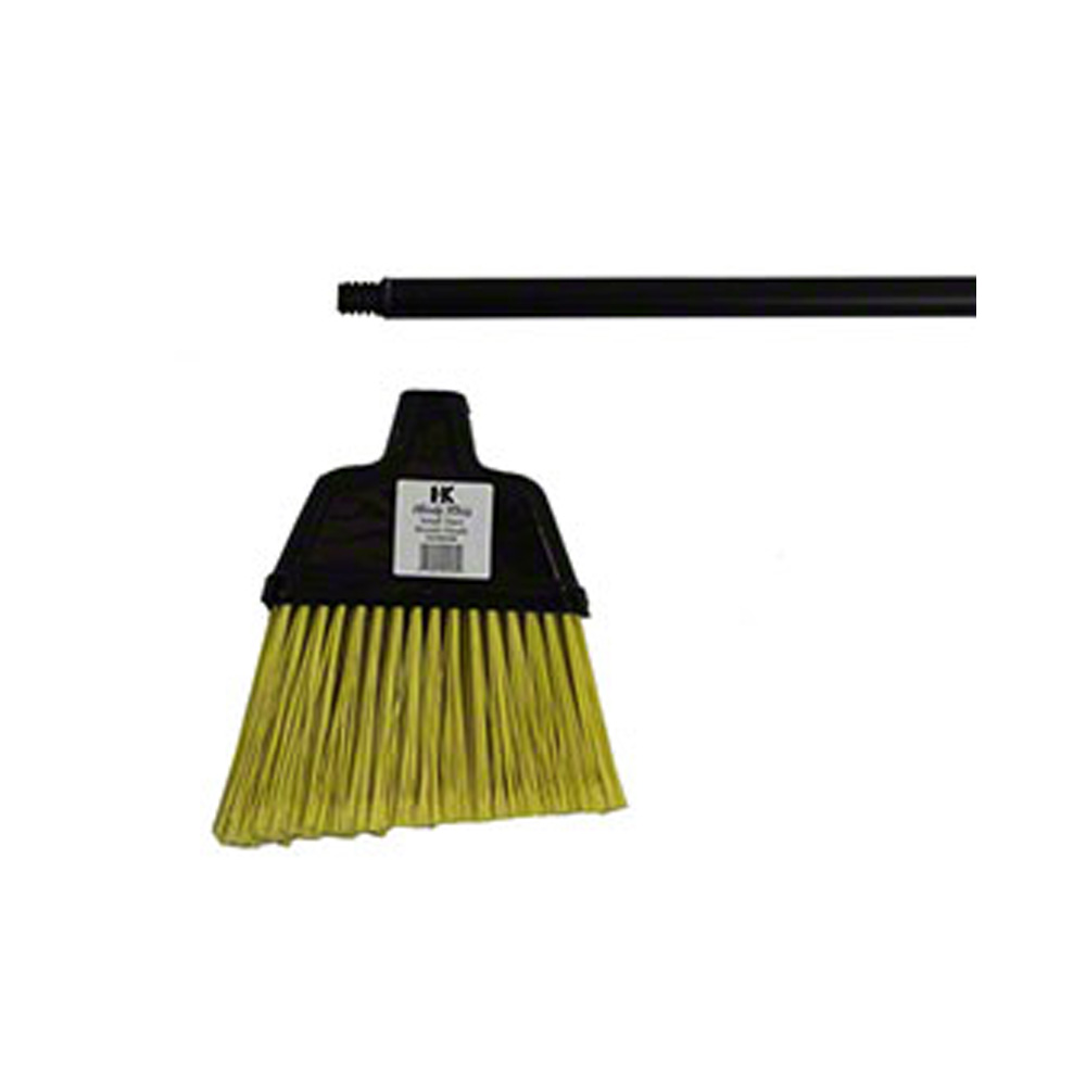 "Black Small Angler Broom with 48""                 Metal Handle00301180"