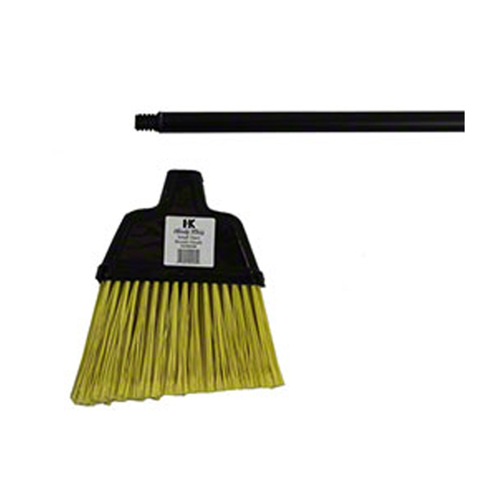 "Black Large Angler Broom with 48""                 Metal Handle 00300181"