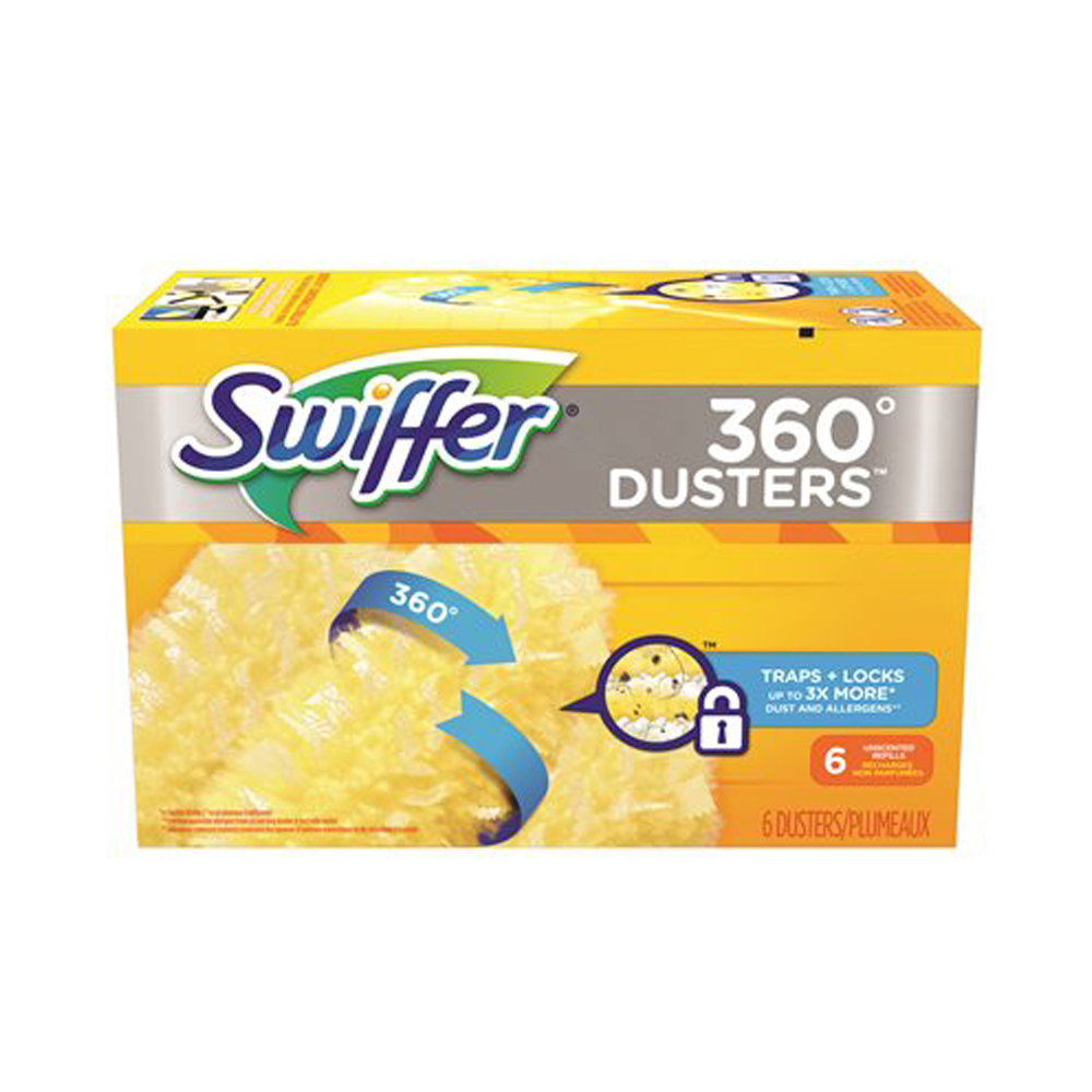 Procter & Gamble - Swiffer 360 Duster 6 Count Unscented Fiber Refill 21620