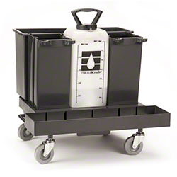 Impact Products Inc. - Black Plastic Bucket And Mop Storage System Unit 3199