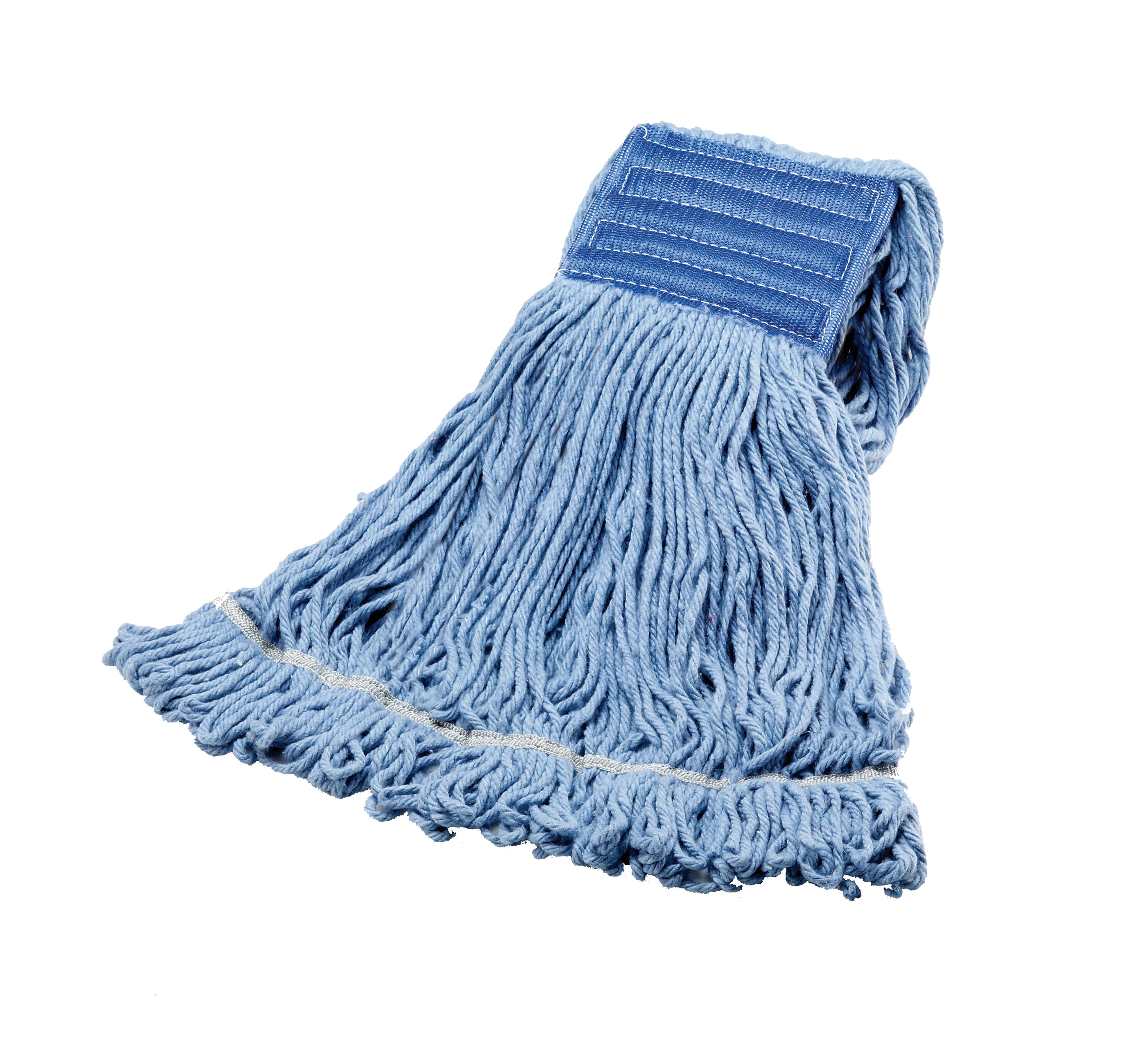 Janico Blue Large Blended Cotton Wide Band Looped End Mop 3042