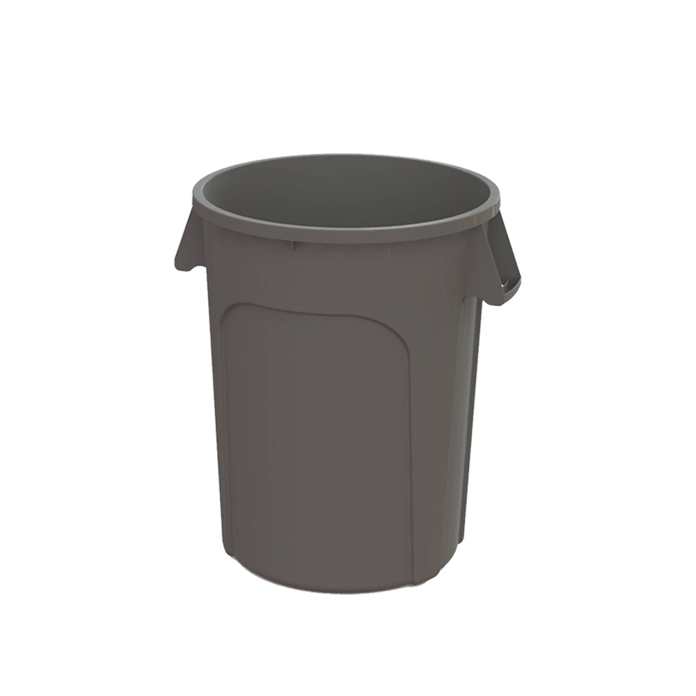 Impact Products Gray 20 gallon Huskee Roud Waste  Container 2000GY