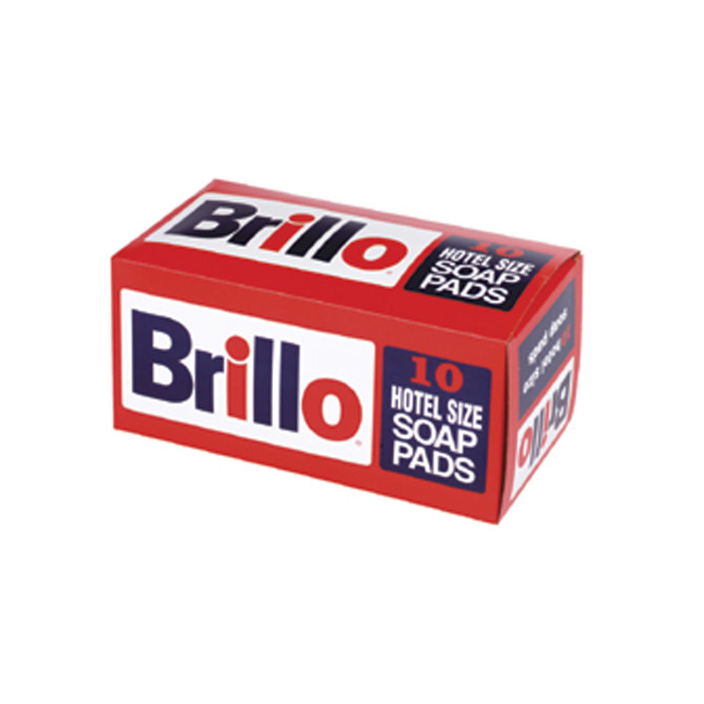 "Cellucap - Brillo 4""x4""x8"" Hotel Size Soap Pad SP1210BRILLO/29404"
