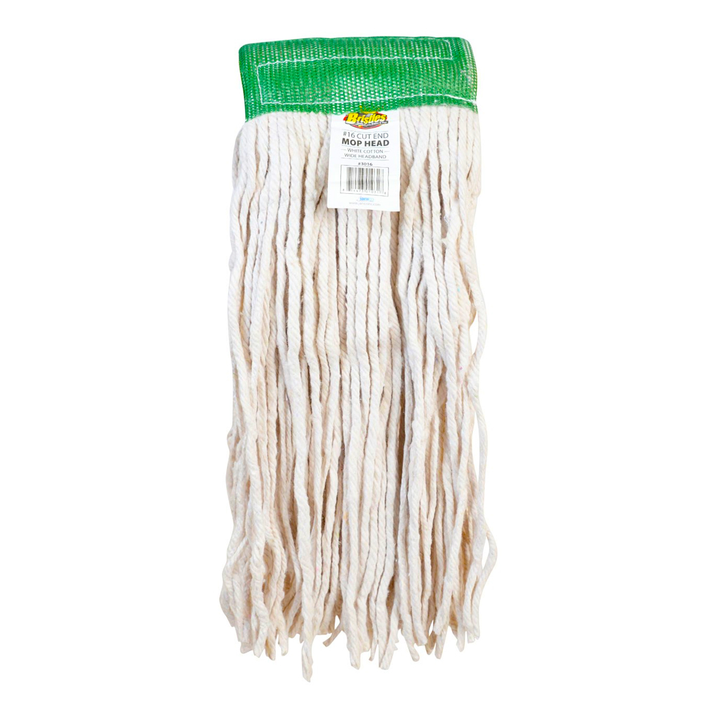 Janico White 4ply Choice Cotton Mop Head #16 3016