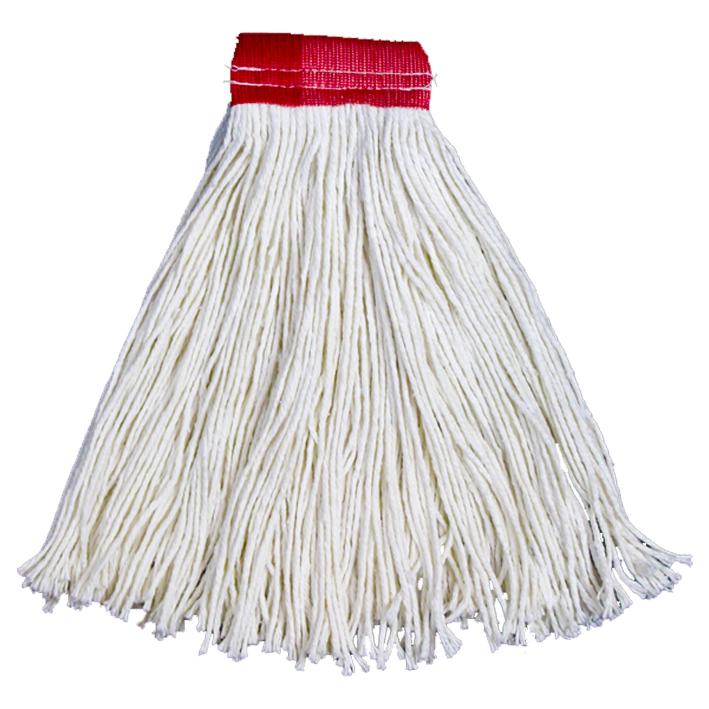 White 24 oz. Professional Quality                 Rayon Cut End Mop 407/N2324