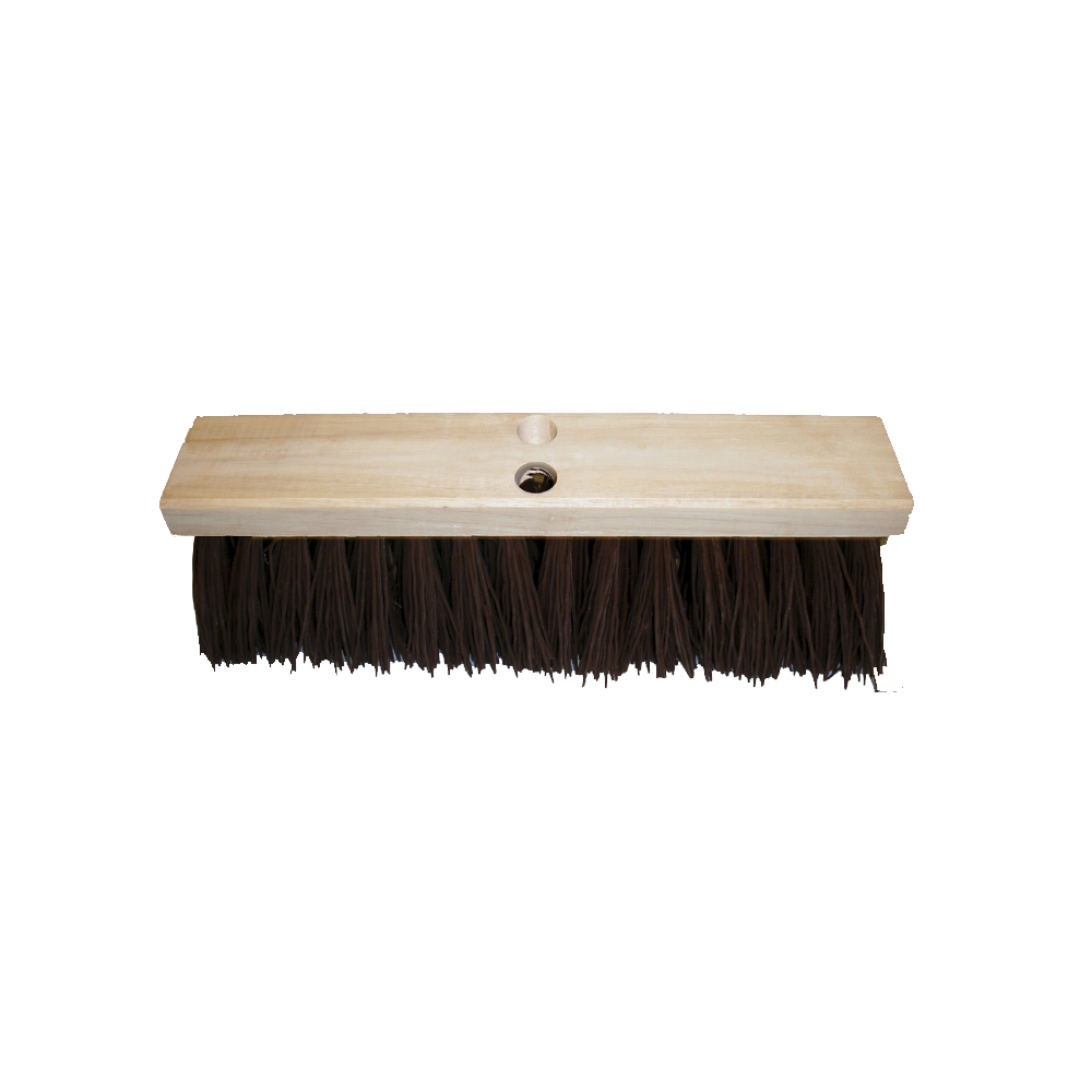 "Culicover & Shapiro 16"" Poly Street Broom 187-16"
