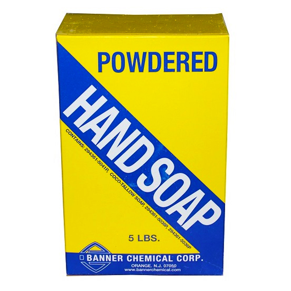 Banner Chemical Corp. - 5 lb. Economy Borated Powdered Hand Soap HS301-005
