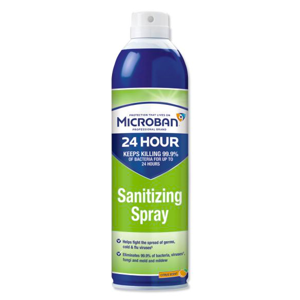 Procter & Gamble - Microban 15 oz. Disinfectant   Sanitizing Spray with Citrus Scent 30130