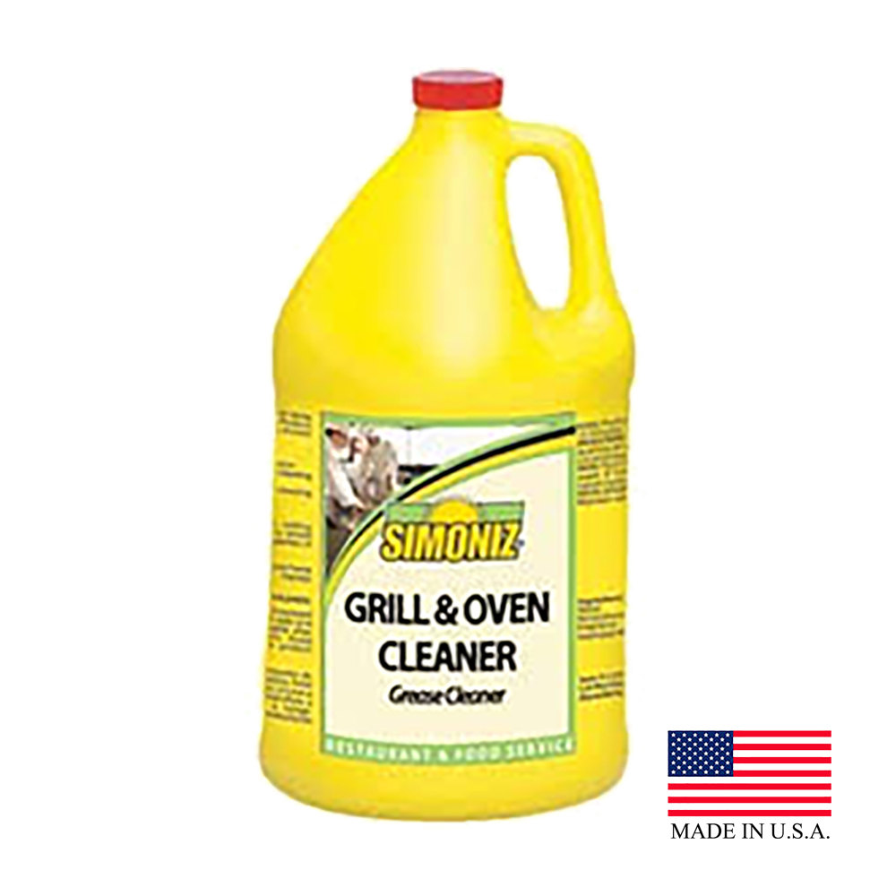 Simoniz 1 Gallon Grill & Oven Cleaner G1380004
