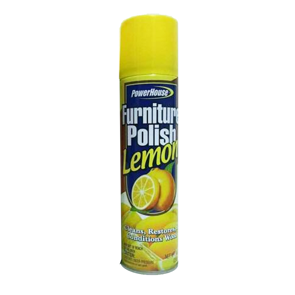 Delta Brands - Power House 9 oz. Lemon Furniture Polish 90584-12