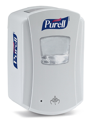 Gojo White 700ml Purell Ltx Touch Free Hand Sanitizer Dispenser 1320-04