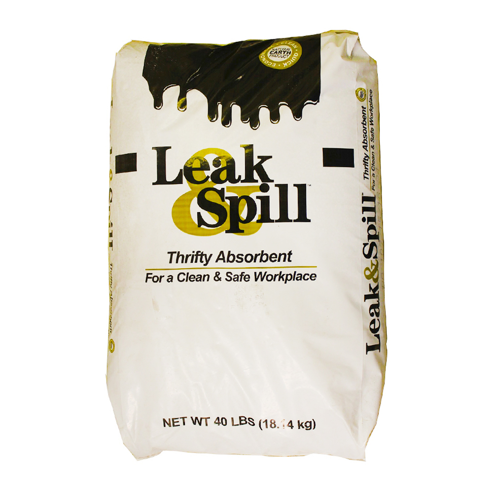 Banner Chemical Corp. - Leak Spill 40 lb. Thrifty Oil Absorbent AB-40B/AB201