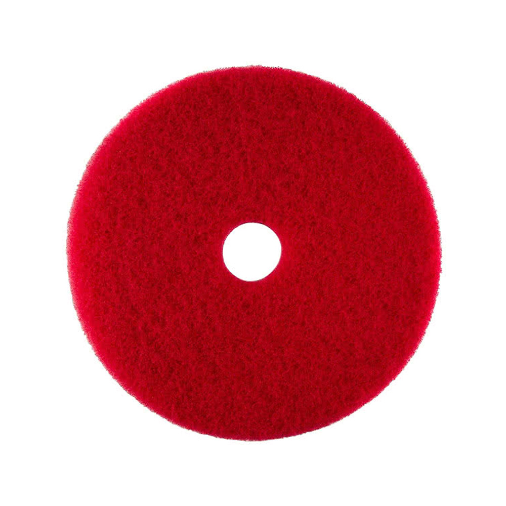 "Scrubble/ACS Red 17"" UL Certified Buffing Pad 51-17"