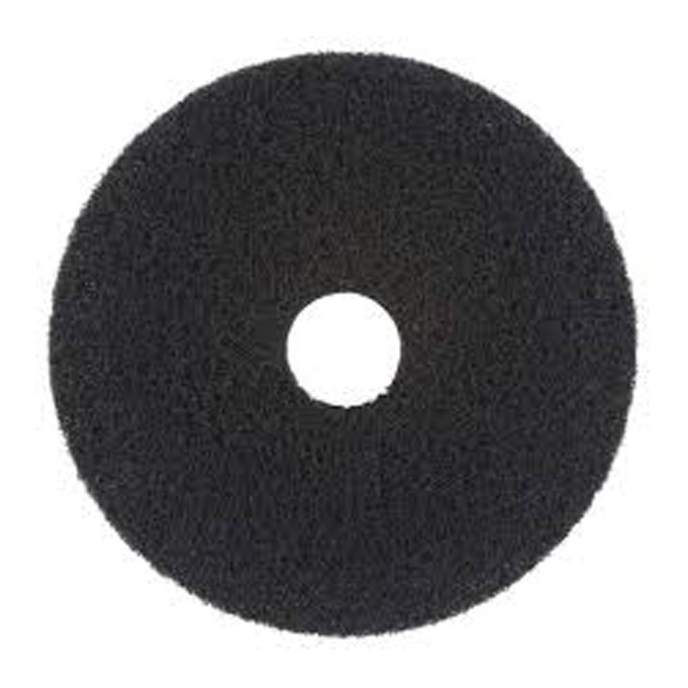 "Scrubble/ACS Ind. - Black 19"" UL Certified Stripping Floor Pad 72-19"