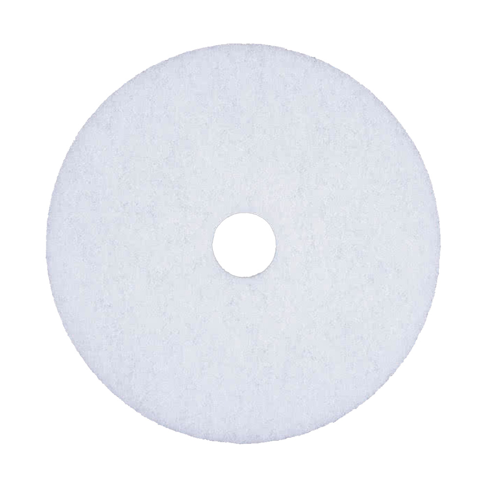 "Scrubble/ACS 20"" White Polishing Floor Pad 41-20"
