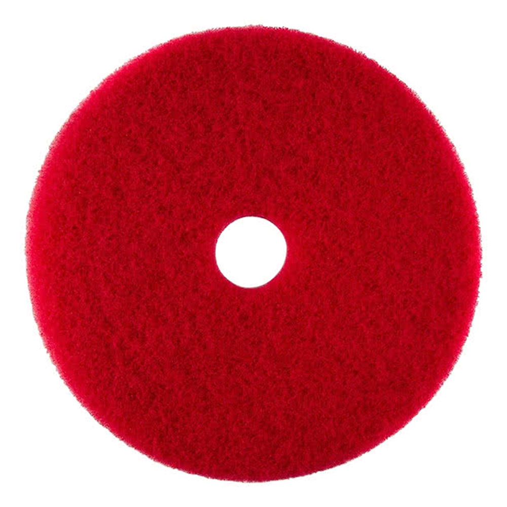 "Scrubble/ACS Red 20"" UL Certified Buffing Pad     51-20"