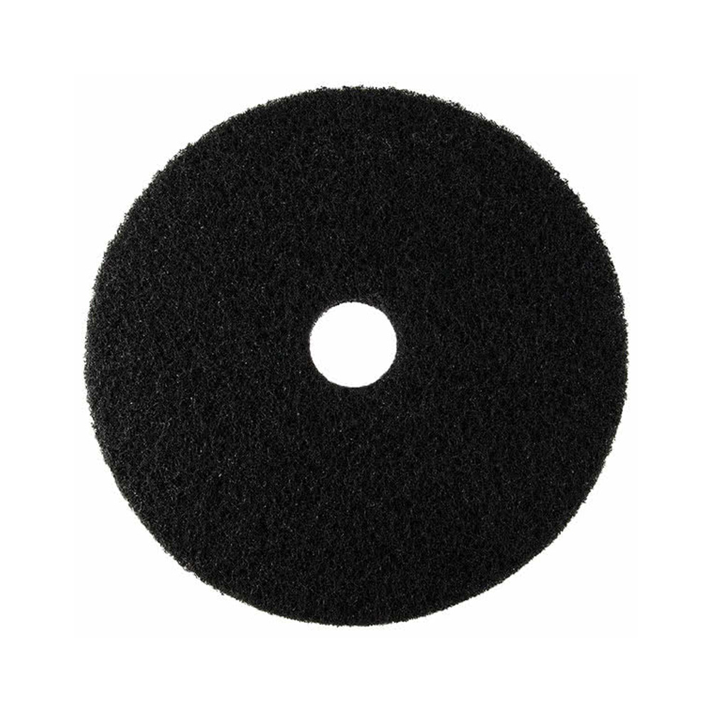 "Scrubble/ACS Ind. - Black 20"" UL Certified Stripping Floor Pad 72-20"