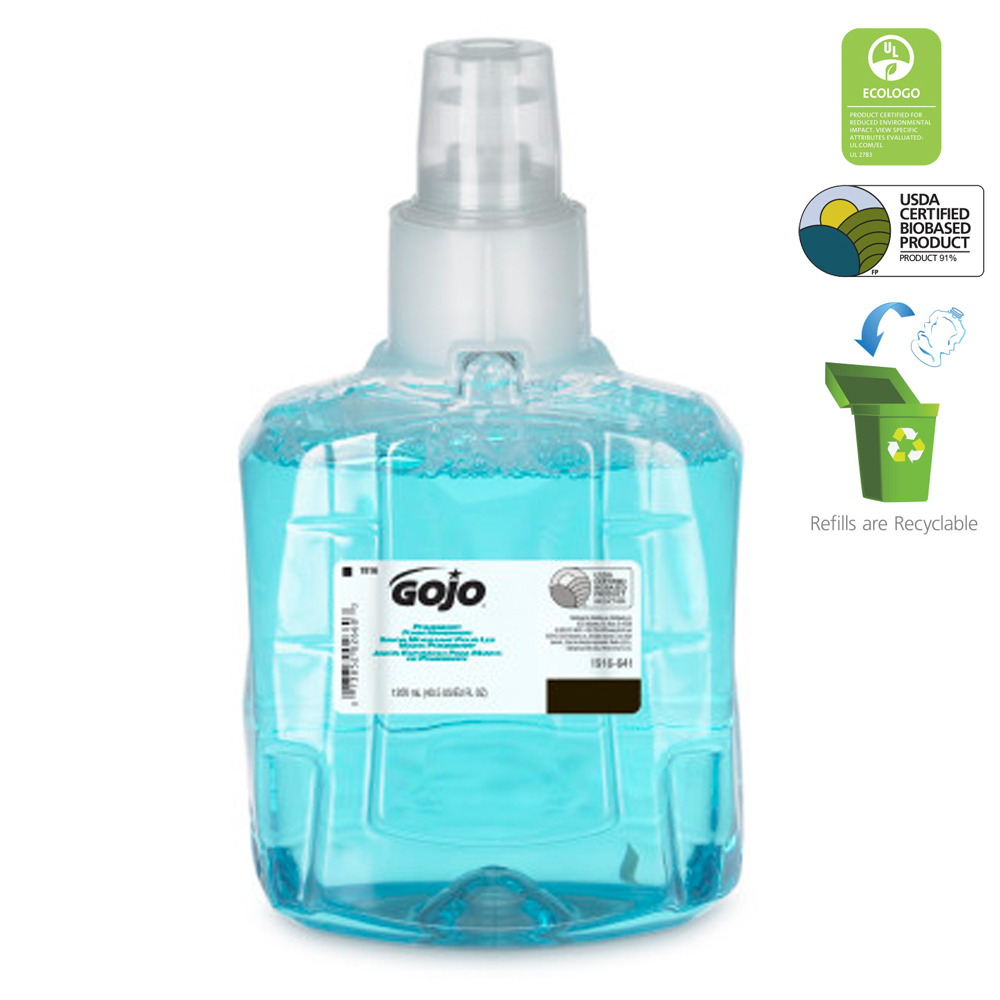 Gojo Ind. - 1200 ml Pomeberry Foaming Hand Soap Refill 191602-ELN00TN