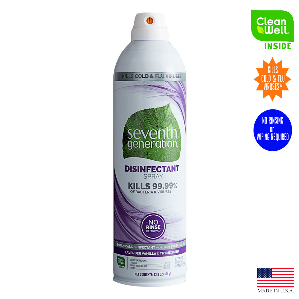 Seventh Generation - Professional 13.9 oz. Disinfectant Spray Lavender, Vanilla and Thyme Scent