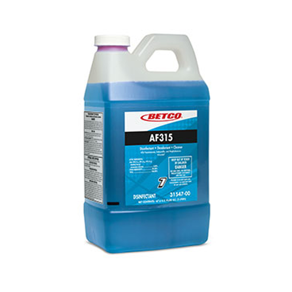 Betco Corp. - FastDraw 7 2 Liter AF315            Disinfectant and Deodorizer 3154700