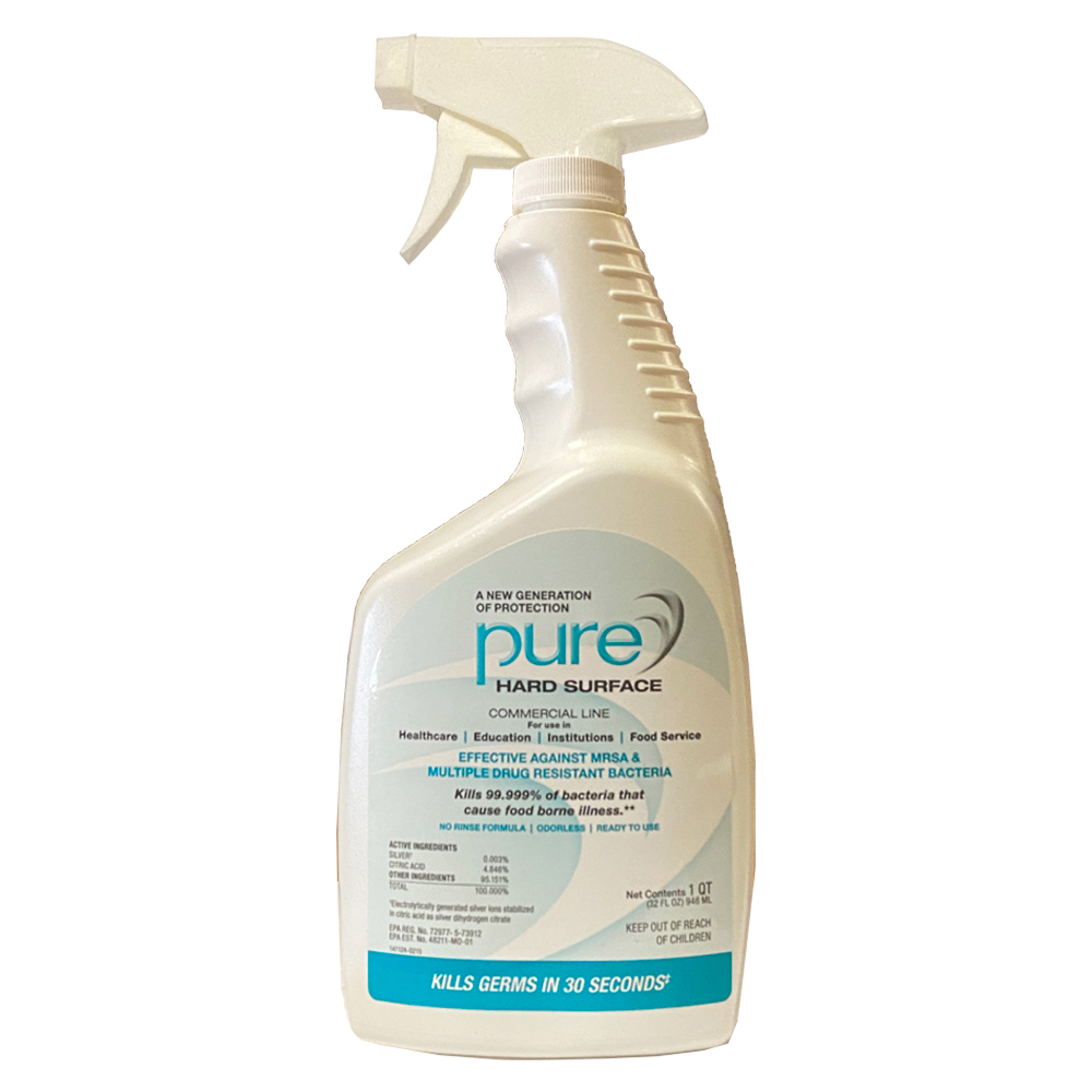 Pristine HD - Pure 32 oz. Hard Surface            Disinfectant Trigger Spray PHDR074